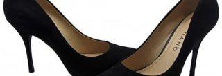 belos sapato scarpin bico fino