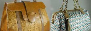 bolsas moda verao em couro