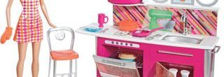 brinquedos da barbie de cozinha