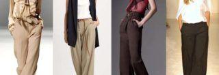 calças femininas soltinhas da moda