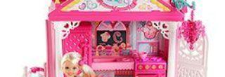 casinha de brinquedos da barbie
