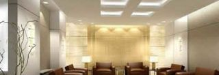decoraçãod e tetos de gesso com iluminação
