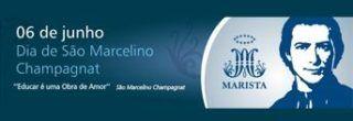 dia de são marcelino champagnat 6 de junho