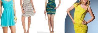 dicas de vestidos de malha para o verão