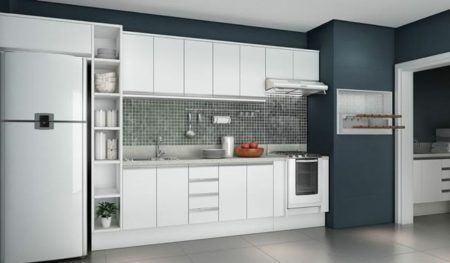 fotos de armários planejados para cozinha