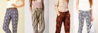 fotos de calças femininas soltinhas