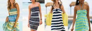 fotos de vestidos de malha para o verão