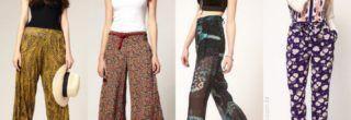 imagens de calças femininas soltinhas
