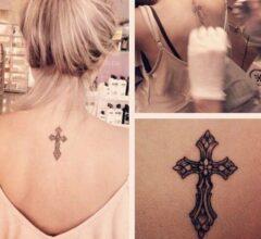 imagens de tatuagens femininas de cruz