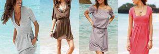 imagens de vestidos de malha para o verão