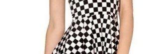 lidos vestidos xadrez