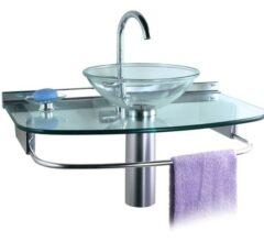 móveis para banheiro de vidro gabinete