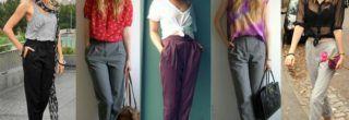 modelos de calças femininas soltinhas