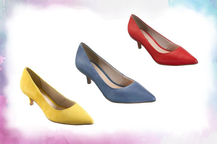 Scarpin Bottero salto baixo modelos e cores