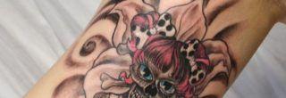 modelos de tatuagens femininas no braço