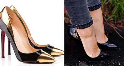 sapato-scarpin-bico-metalizado