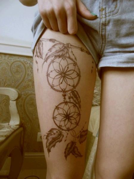 tatuagens na perna femininas 3
