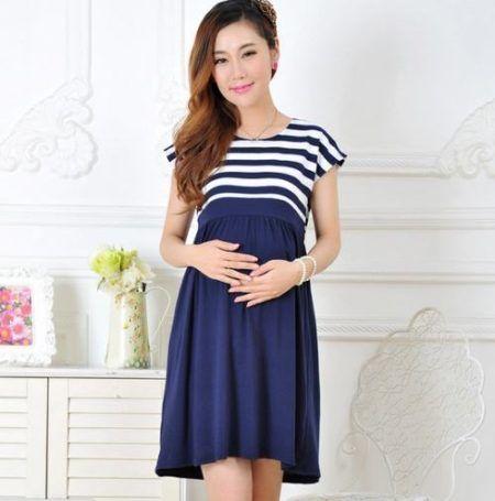 vestido de malha para gravidas 1