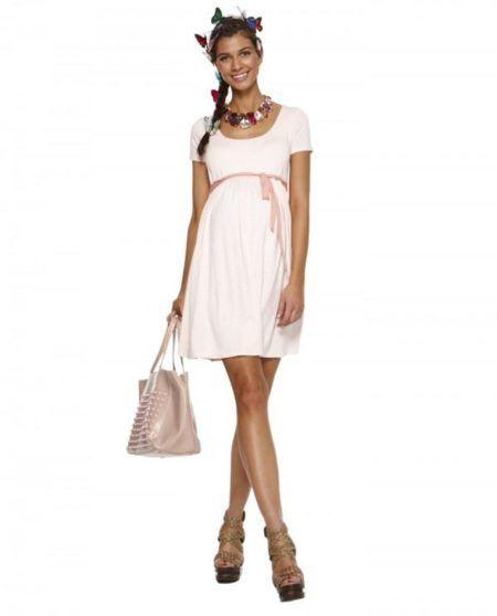 vestido de malha para gravidas 3