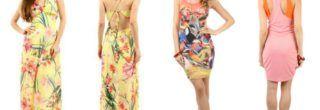vestidos de malha para o verão longos