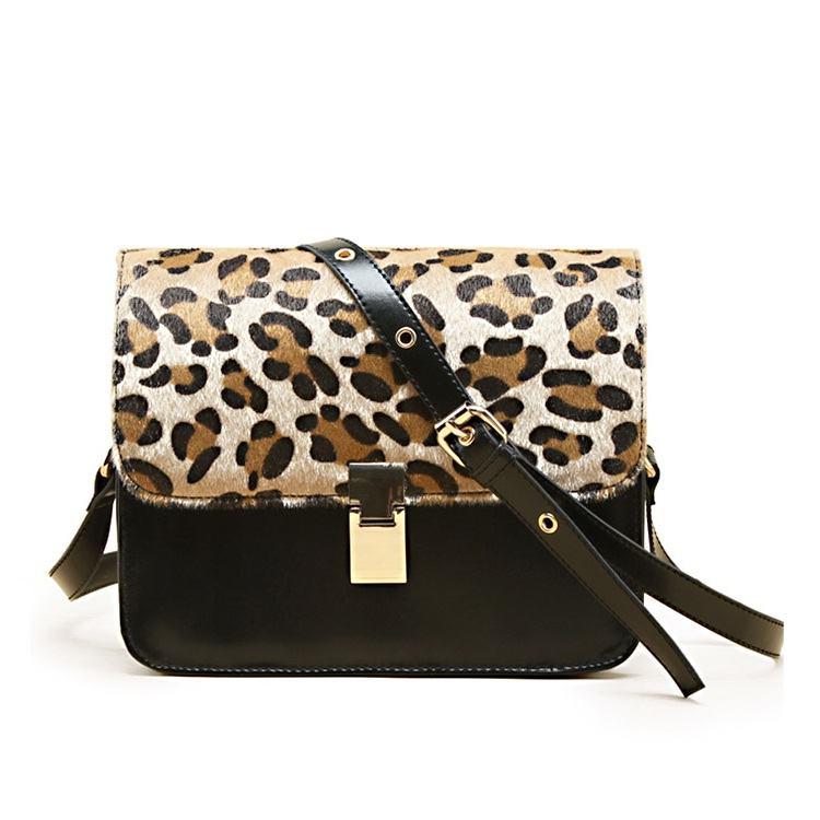 bolsa animal print estampa de leopardo moda feminina