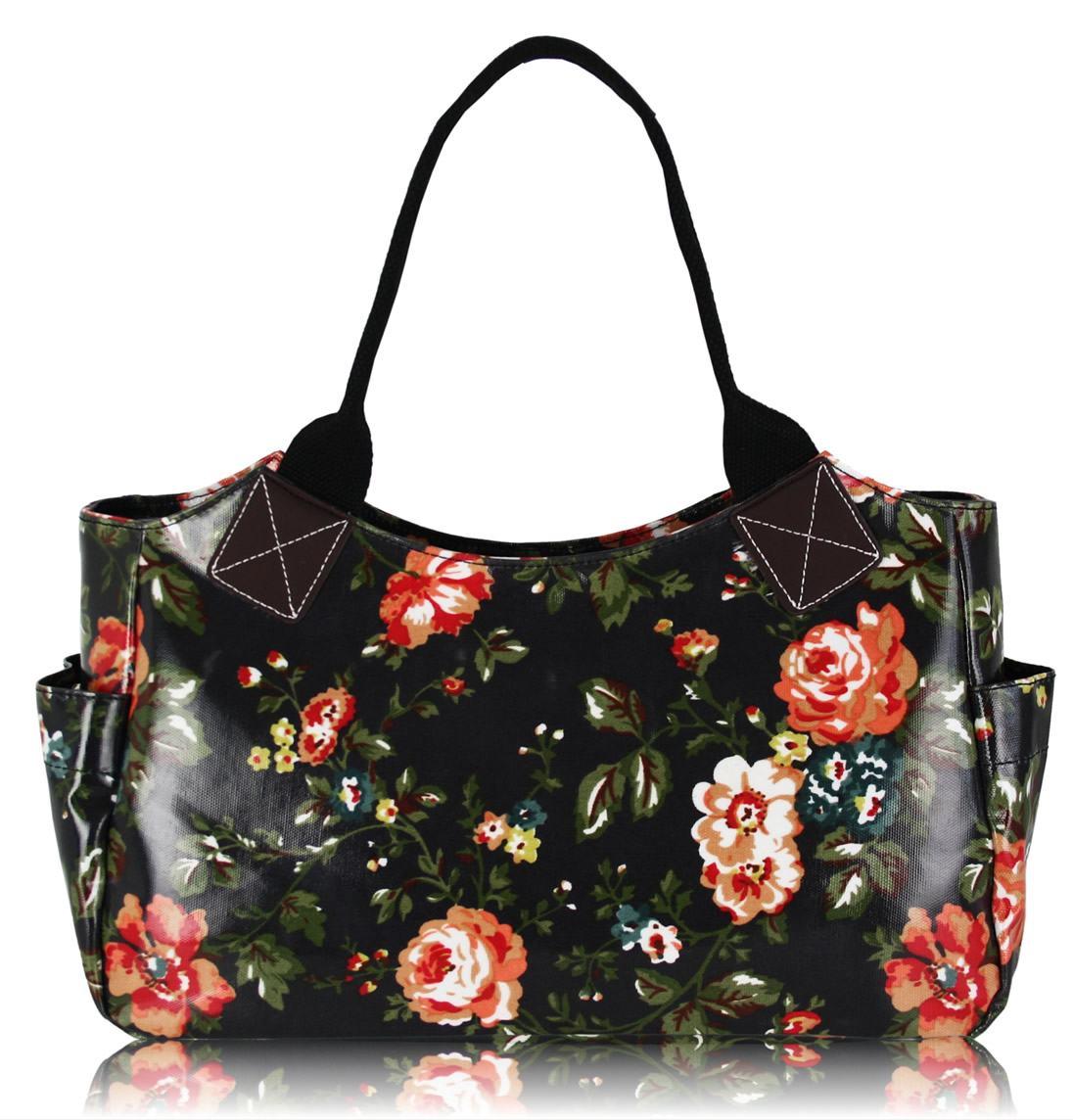 Bolsa De Festa Preta 2015 : Bolsas femininas florais bela feliz
