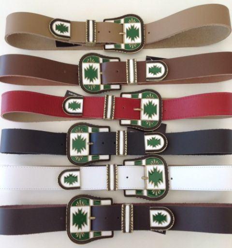 cintos coloridos apache