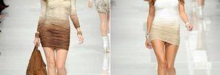fotos de vestidos drapeados curtos