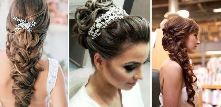 Vários Penteados Para Noivas Madrinhas Cabelos Soltos
