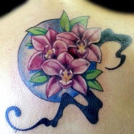 tatoo flower