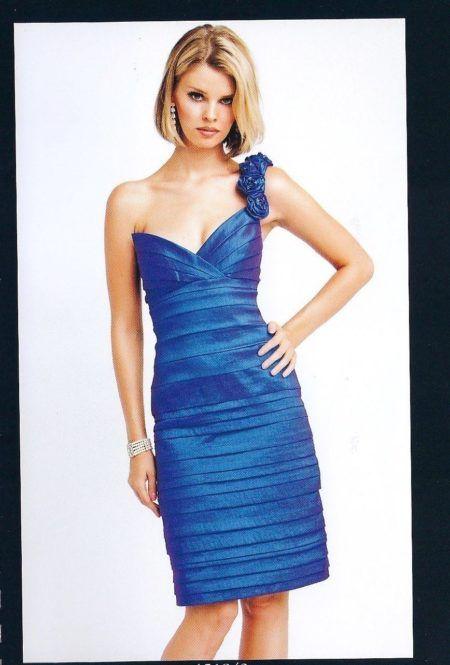 vestidos drapeados curto 1