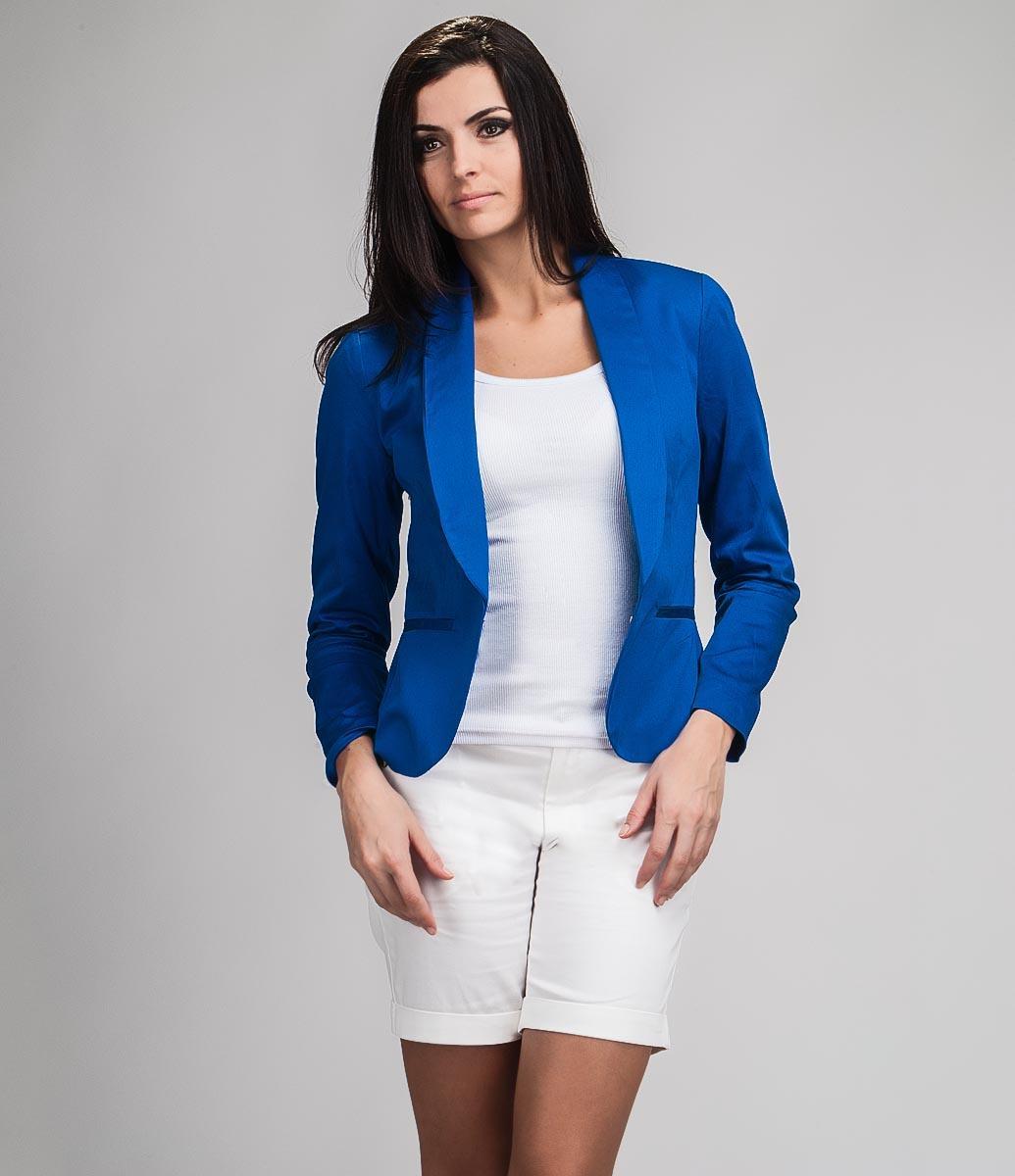 7b02e1cc4a Especial looks com blazer feminino da moda  Azul