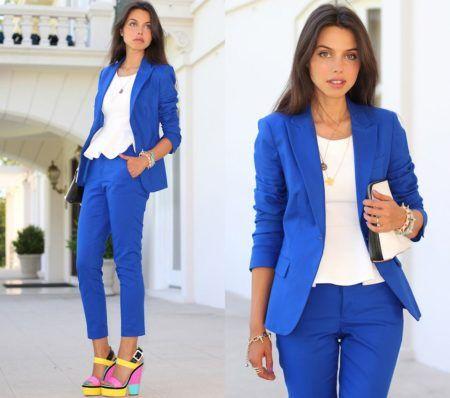 blazer feminino azul 2