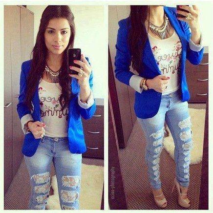 blazer feminino azul 3