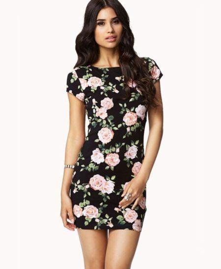 vestidos florais curtos 3