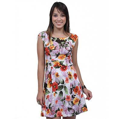 vestidos florais curtos 4