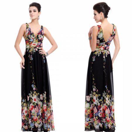 vestidos florais longos 3