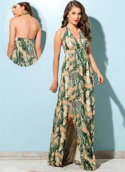 vestidos florais longos 4