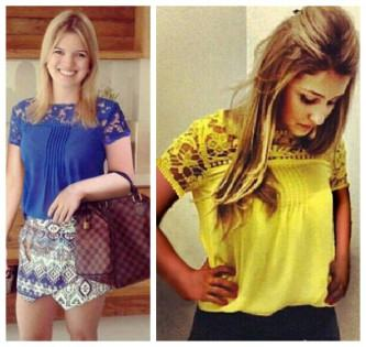 camisas coloridas primavera verão