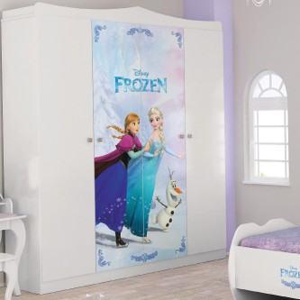 adesivos decorativos para porta de guarda roupa feminino frozen