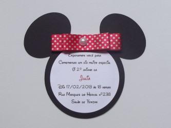 convites de aniversário da minnie