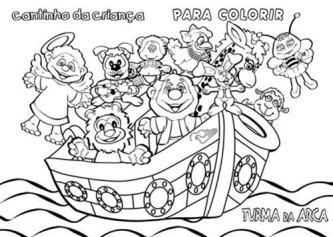 desenhos de noé para colorir e imprimir
