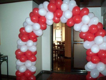 dicas de arco de balões passo a passo