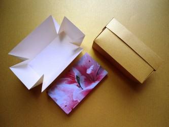 dicas de como fazer caixinha de papel cartão