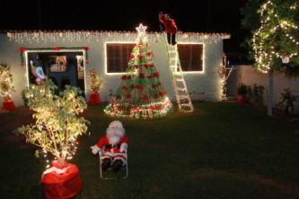 dicas de jardim decorado para o natal