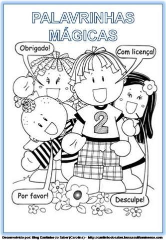 dicas de palavrinhas mágicas educação infantil