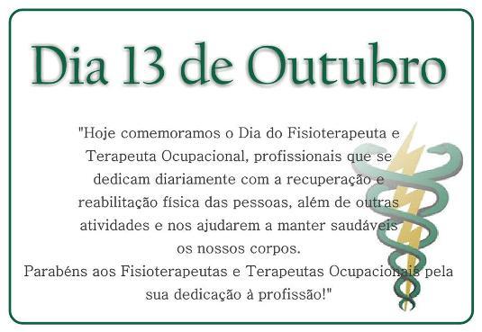 Extremamente Cartão para o Dia do Fisioterapeuta para 13 de outubro | Bela & Feliz LV74