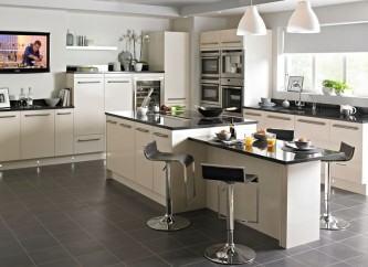 imagens de cozinhas planejadas com ilha central