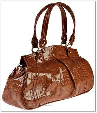 maxi bolsas de couro da moda