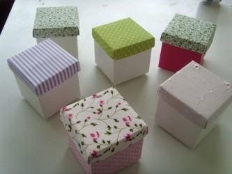 modelos de caixinha de papel cartão